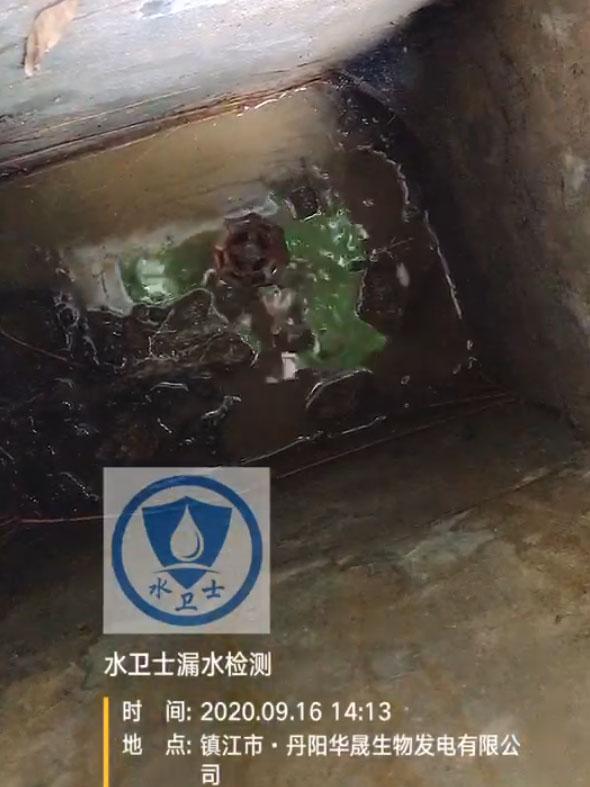丹阳漏水检测案例